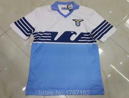 6664054d6 Top thai quality 2015 16 Italy FC Lazio home Soccer Jerseys+short ...