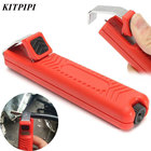 KITPIPI 1pc CDT-A2 Wire Stripper Tools Knife PVC/Rubber/PTFE Silicone 8-28mm Cable Stripping Knife Mini Electrician Cable Knife
