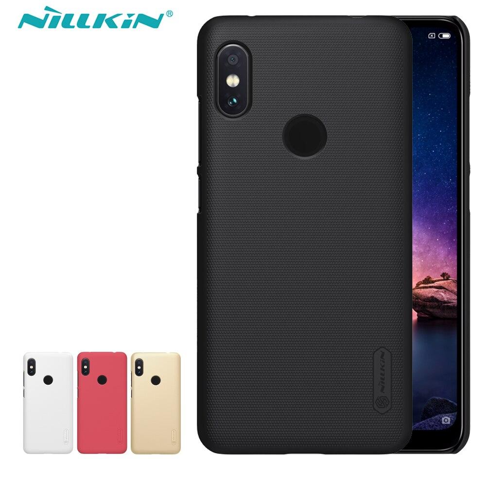 Xiaomi Redmi Note 6 Pro caso NILLKIN mate PC duro caso de la cubierta para Xiaomi Redmi Nota 6 Pro mundial la versión 6,26 pulgadas