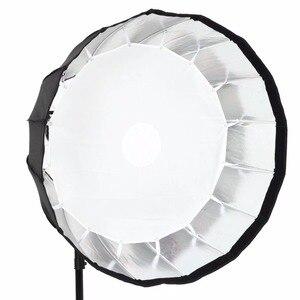 Image 3 - Godox przenośny P90h 90CM głębokie paraboliczne Softbox Bowens zamontować błyskanie studyjne Speedlite reflektor Photo studio Softbox