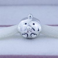Fits Pandora Bracelets Chicken Silver Charm Beads Authentic 925 Sterling Silver Charms DIY Fine Jewelry Free
