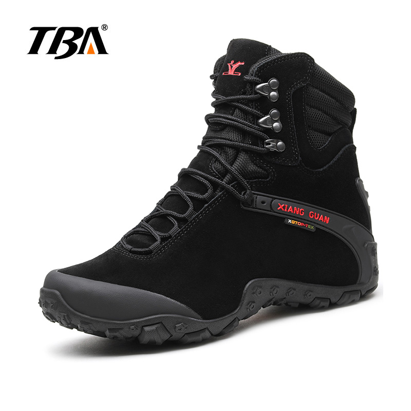 2017 TBA New Antumn Men &Women slip resistant trail shoes Winter waterproof  hign outdoor boot for Men hiking shoes size 36-46 casual waterproof boot silicone shoes cover w reflective tape for men black eur size 44 pair