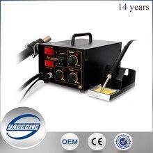 Yaogong 852D горячего воздуха цифровой паяльная станция smd нагреватель паяльника