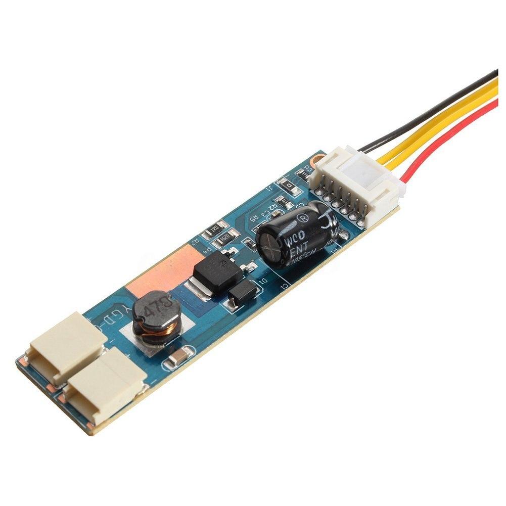 Universal Highlight Dimable LED Backlight Lamps Kit Adjustable 2 LED Strips for 15-24 LCD Monitor LB88