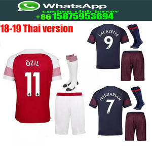 3de87b3d7 Optimum quality 2018 2019 Arsenales Adlut kit+sock soccer Jerseys camisetas  shirt survetement man Football shirt. free shipping