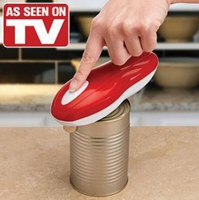 Smartlife Tornado Hands Free Automatic Can Opener AS SEEN ON TV One Touch NEW Convenience Openers