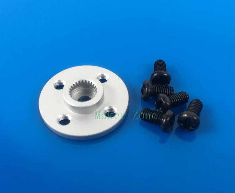 Metalowy róg serwomechanizmu, ramię serwo, metalowe kierownice małe stenty talerzowe do MG995 MG996R itp. standard odpowiedni do standardowego rozmiaru