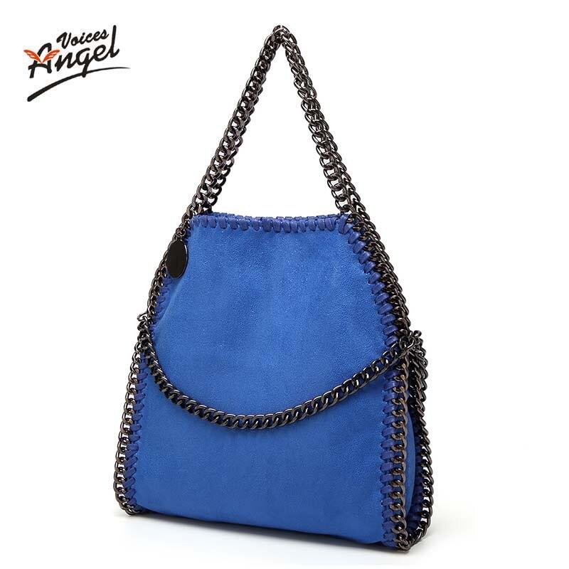 Luxury Handbags Shoulder Women Bag Vintage Scrub Messenger Bags Chain Strap Crossbody Bag Clutch Bolsa Feminina Famous Designer