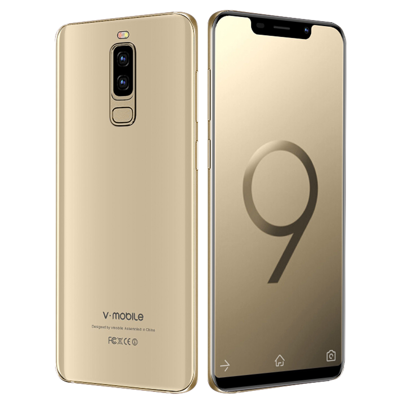 TEENO VMobile S9 Mobile Phone Android 7.0 5.84 19:9 Full Screen 2GB+16GB 13MP Camera celular Smartphone Unlocked Cell Phones