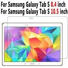 Protecteur décran, en verre trempé pour Samsung Galaxy Tab S 10.5 T800 T805 S 8.4 T700 T705