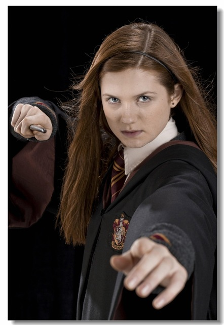 custom canvas wall decoration harry potter poster ginny weasley wall