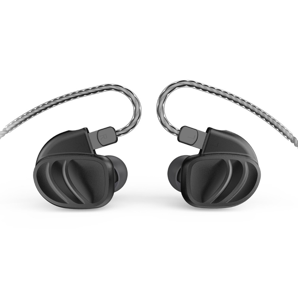 AK BQEYZ KC2 2BA+2DD Hybrid Dynamic In Ear HIFI Earphones Monitor Earbud Bass Running Sport Earphone Earplug Headset Earbud