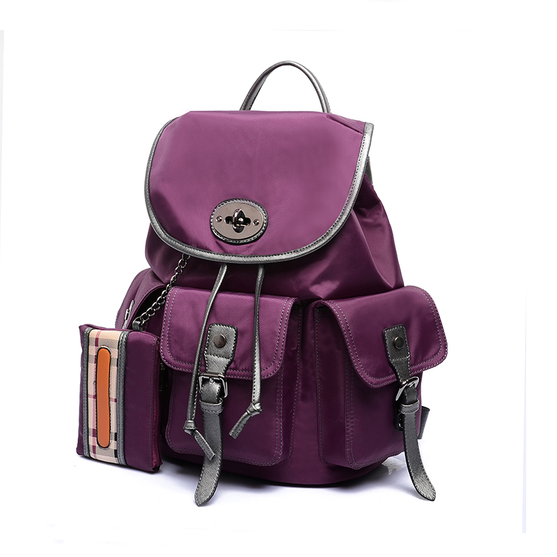 2018 Hot Sales Vintage nylon Women Backpack Mujer Mochila Feminina Campus Girls School Bag Sac a Dos Brand fashion Travel Bag women oxford backpack designer teenagers girls travel school bag waterproof sac a dos bolsas mochila feminina black blue purple