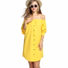 Elegante sexy mujeres dress vestido de tirantes beach túnica corta ropa ropa mujer vestidos vestido de festa robe femme kleider 2016
