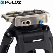 PULUZ Quick Release Clamp Adapter + Quick Release Plate for DSLR  SLR Cameras