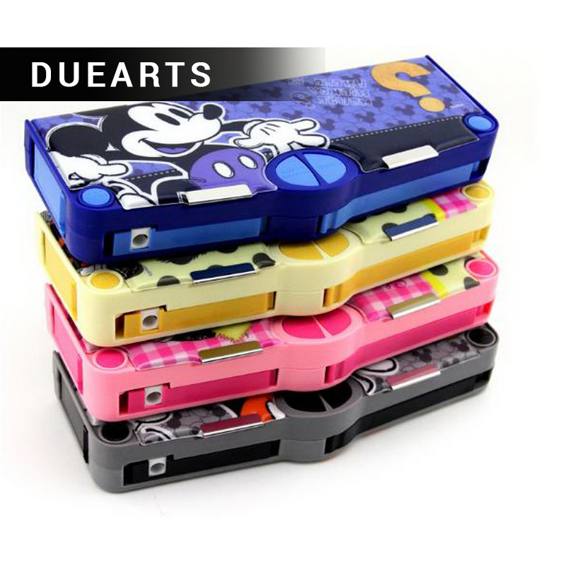 Rushed stationery children cute pencil case primary school supplies kindergarten boys and girls plastic pencil case wj003 hot new rushed kit escolar bolso stationery set gift primary children birthday school tools supplies essential papelaria