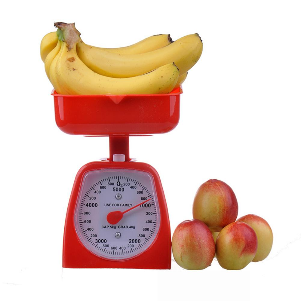 New 3/5kg Mechanical Detachable Tray Kitchen Scales Digital Food Scale Stainless Steel Weight Scale Measuring Tools milwaukee electric tool corporation