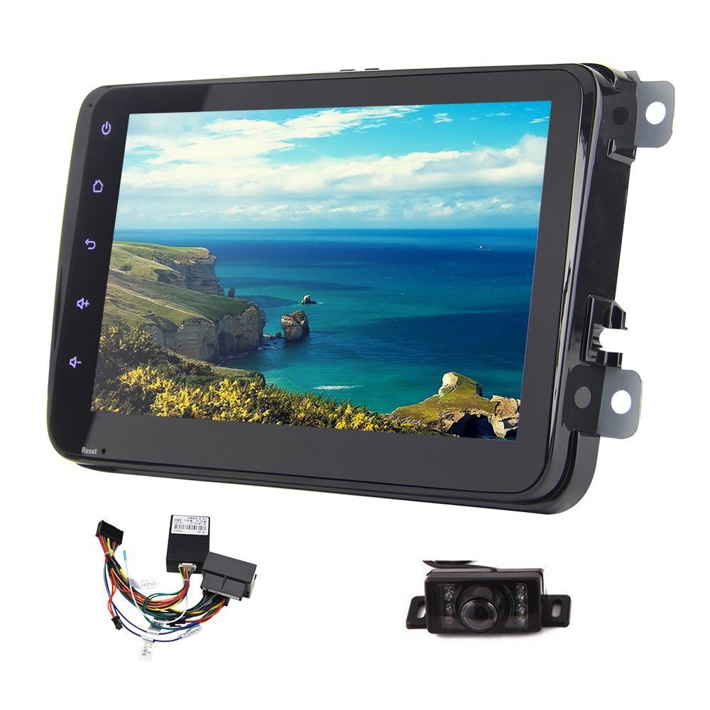 Car Head Unit 2 Din 8 android 4 4 WIFI GPS font b Radio b font