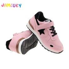 Sneakers Jala Sepatu Anak-anak Baru Laki-laki Perempuan Sepatu Lari Bernapas Untuk Anak-Anak Flats Sport Sepatu Bintang Busana Kasual Sepatu Anak-anak