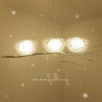 Modern LED Chandelier Diningroom Lamp Novelties Lighting Fixtures Living Room Lamps Hanging Lights Home Luminaires Chandeliers