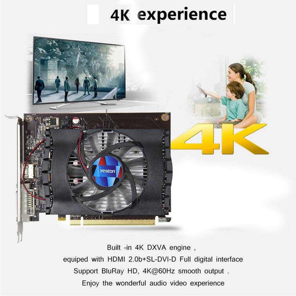 GT1030 Geforce Fan GPU 2G GDDR5 64bit 4K Gaming Graphics Cards HDMI DVI web page