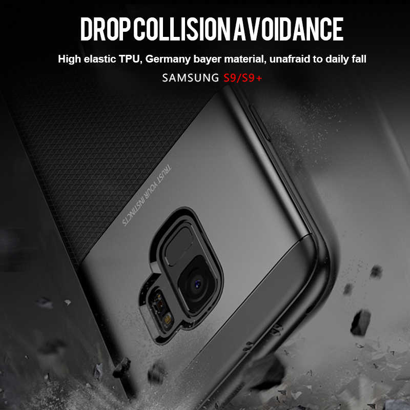 Для samsung S9 Plus Чехол IPAKY S9 Note 9 S10e PC Гибридный Силиконовый защитный чехол мягкий чехол для samsung Galaxy S10 Plus чехол