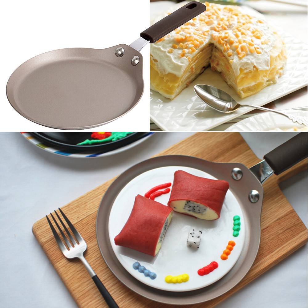 Non-stick Copper Frying Pan With Ceramic Coating And Induction Cooking Oven Safe