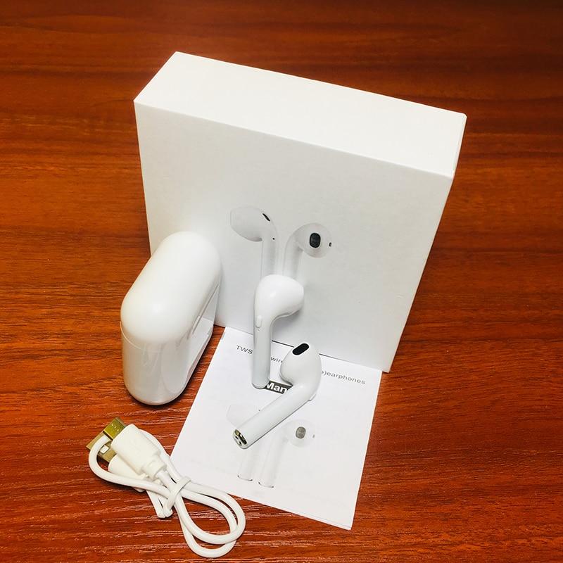 I8XTWS auricular inalámbrico Bluetooth 5 0 estéreo con micrófono caja de carga 1 1PKW1 Chip i7i9i10Si11i12i13i15i16i19i30 in Bluetooth Earphones Headphones from Consumer Electronics