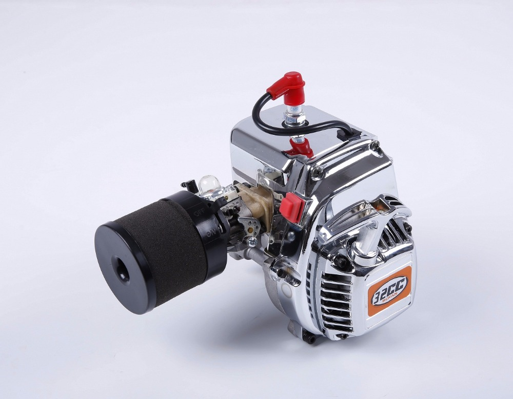 US $208 0 |1/5 scale rc baja parts Rovan parts 32cc engine spare parts 32cc  chrome motor with Walbro carb 813,NGK plug spark-in RC Cars from Toys &