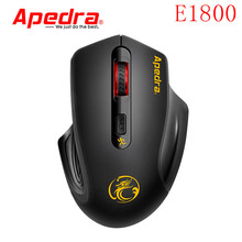 Apedra Rechargeable Wireless Mouse Slient 4 Button Computer Gaming 1600DPI Built-in Battery with Computer Mice For PC Mac Laptop