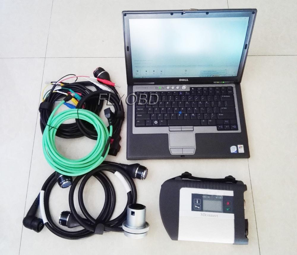 MB STAR C4 with dell d630 diagnostic lapotp