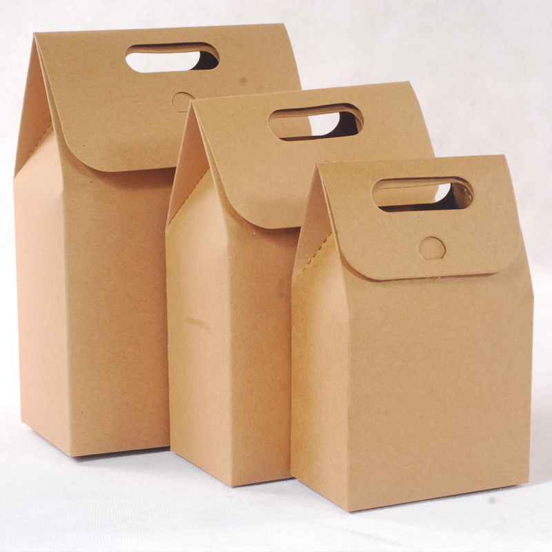 50 Pcs Packing Hot Sale Big Size Fashion Design Paper Bag For Tea Or