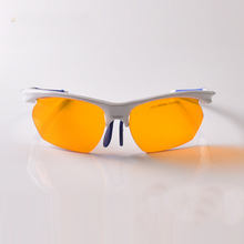 купить O.D 6+ laser safety glasses for violet and blue lasers CE With style 6 for 190-490nm lasers дешево