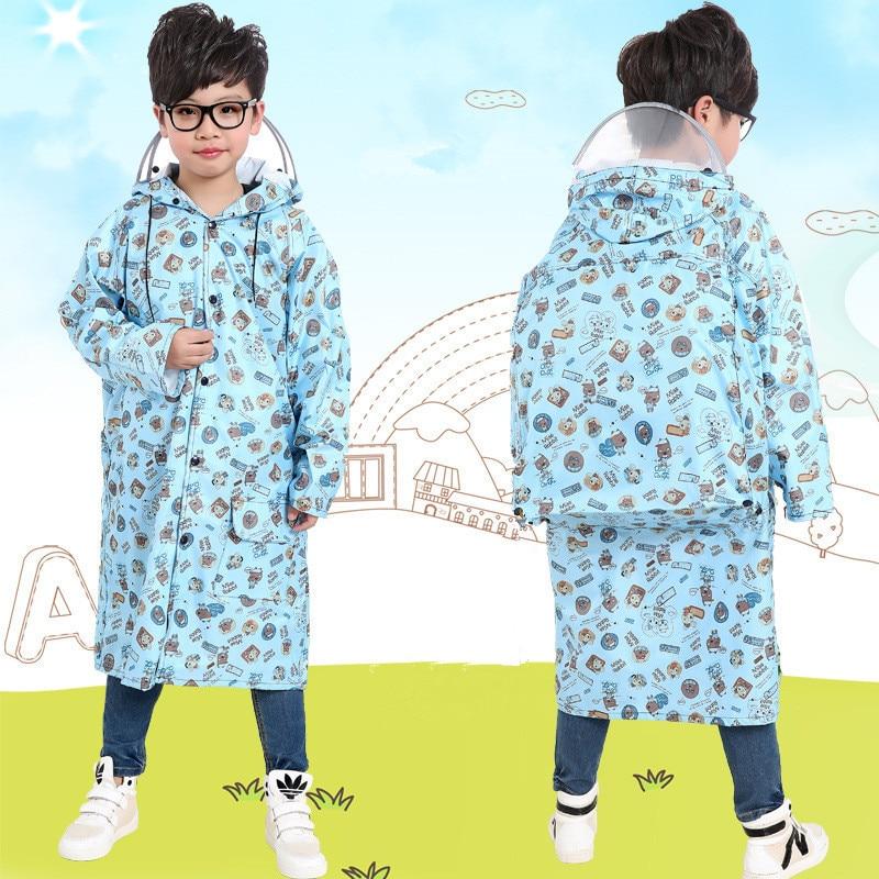2016 New Spotted Poncho Waterproof Kids Rain Coat For children Raincoat Rainwear/Rainsuit,Kids Boy Girl Animal Style Raincoat