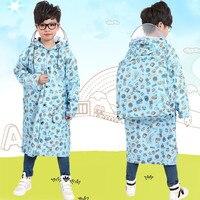 2016 Nuovo Spotted Poncho Impermeabile Bambini del Cappotto di Pioggia Per i bambini Raincoat Impermeabili/Rainsuit, Capretti Della Ragazza del Ragazzo di Stile Animale impermeabile