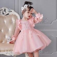 cd45dd9c7b607 Fille robe fête anniversaire mariage princesse enfant en bas âge bébé filles  vêtements de noël enfants enfants fille robes