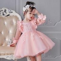 Girl Dress Party Birthday Wedding Princess Toddler Baby Girls Christmas Clothes Children Kids Girl Dresses