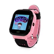 2017 A15 Touch Screen Baby GPS Tracker Smart Watch With Flashlight for Kids SOS Anti Lost GSM Smart Phone Setracker APP