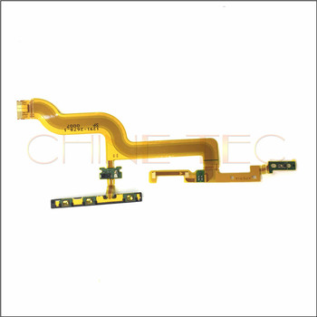 10pcs new For Sony Xperia Z4 Tablet SGP771 Power Button & Volume Button Mobile Phone Flex Cable Ribbon Replacement Parts