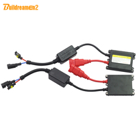 Buildreamen2 AC HID Xenon Ballast 35W 55W 12V Slim Block Digital Ballast For Car Xenon Lamp