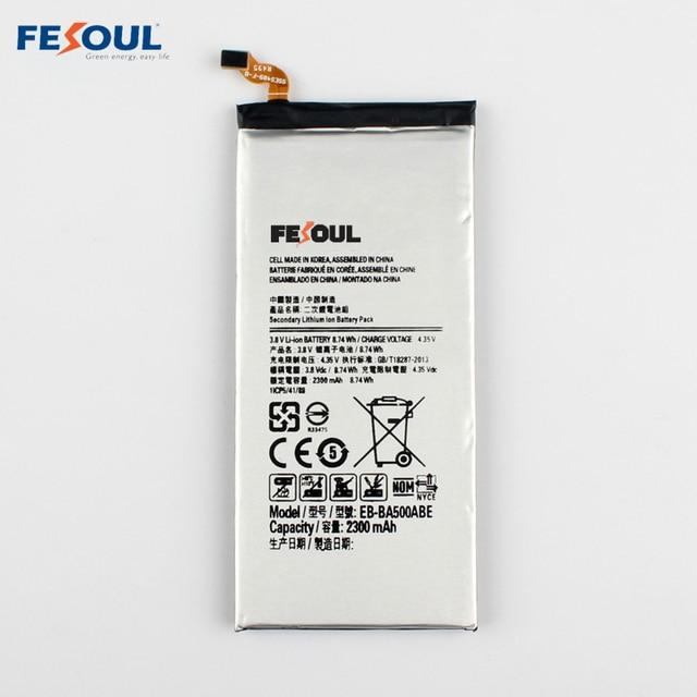 New EB-BA500ABE Rechargeable Li-ion phone battery For Samsung Galaxy A5 A5000 A5009 SM-A500F A500F SM-A500 A500 2600mAh
