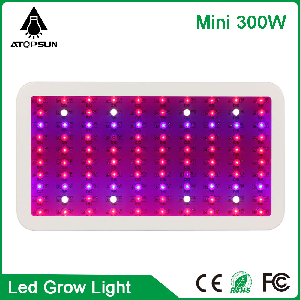 1pcs Mini Full Spectrum 100leds 300W  Led Grow Light Lamp For Flowering Plant Veg Hydroponics system plant led lampara AC85-265V 90w ufo led grow light 90 pcs leds for hydroponics lighting dropshipping 90w led grow light 90w plants lamp free shipping