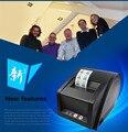 Una máquina anfibia Jia Bo GP-3120TU supermercado precio de la máquina impresora de etiquetas de código de barras térmica Impresora de Etiquetas de 80mm
