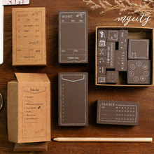 Vintage Functional series wood stamp DIY craft wooden rubber stamps for scrapbooking stationery scrapbooking standard stamp lychee vintage wood box rubber stamps wooden scrapbooking standard stamp diy craft stamps decoration for handmade gift