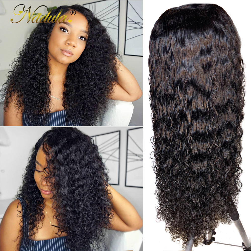 Nadula Full Lace Wigs Human Hair With Baby Hair Deep Wave Lace Front Human Hair Wigs