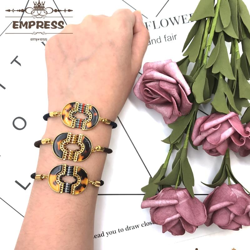 Gold lèvres Kiss Bracelets MIYUKI GRAINE PERLES Bracelet Breloque Réglable Cadeau