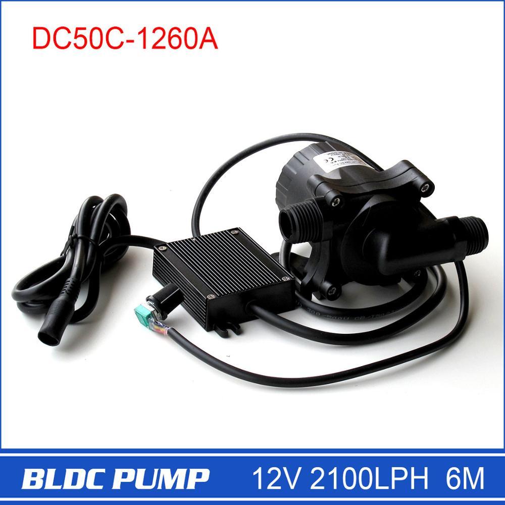 12 вольт водяной насос dc50c-1260a Скорость регулируется 5-12 В широкий рабочее напряжение, большой расход