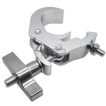 20Pcs/Lot Stage Light Hook Par Light Clamp Aluminium Material Moving Head Light With Dia.38~51mm Tube DJ Disco Light Equipment