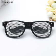 Funny Black Moustache Party Glooming Costume Glasses Novelty Sunglasses Photobooth Props Wedding Party Supplies Decoration Gifts
