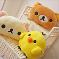 Cute Rilakkuma Yello Chicken Plush Toys Stuffed Soft Cartoon Toy Warming hands in Winter Gifts for Girls Christmas Gifts